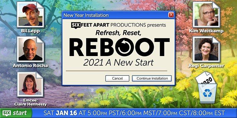 Refresh, Reset, REBOOT 2021