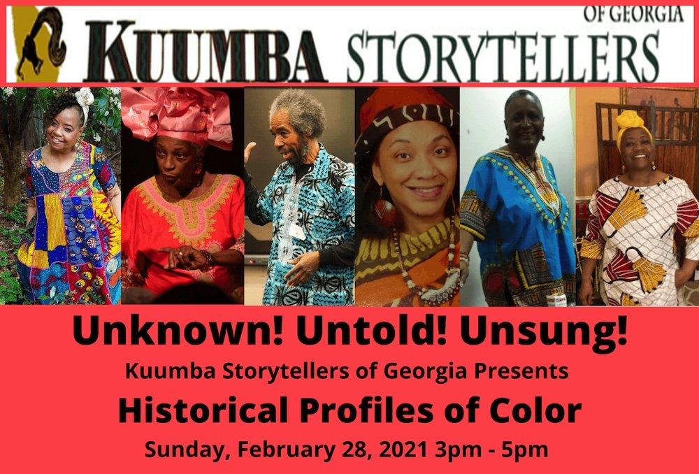 Kuumba Storytellers of Georgia's show