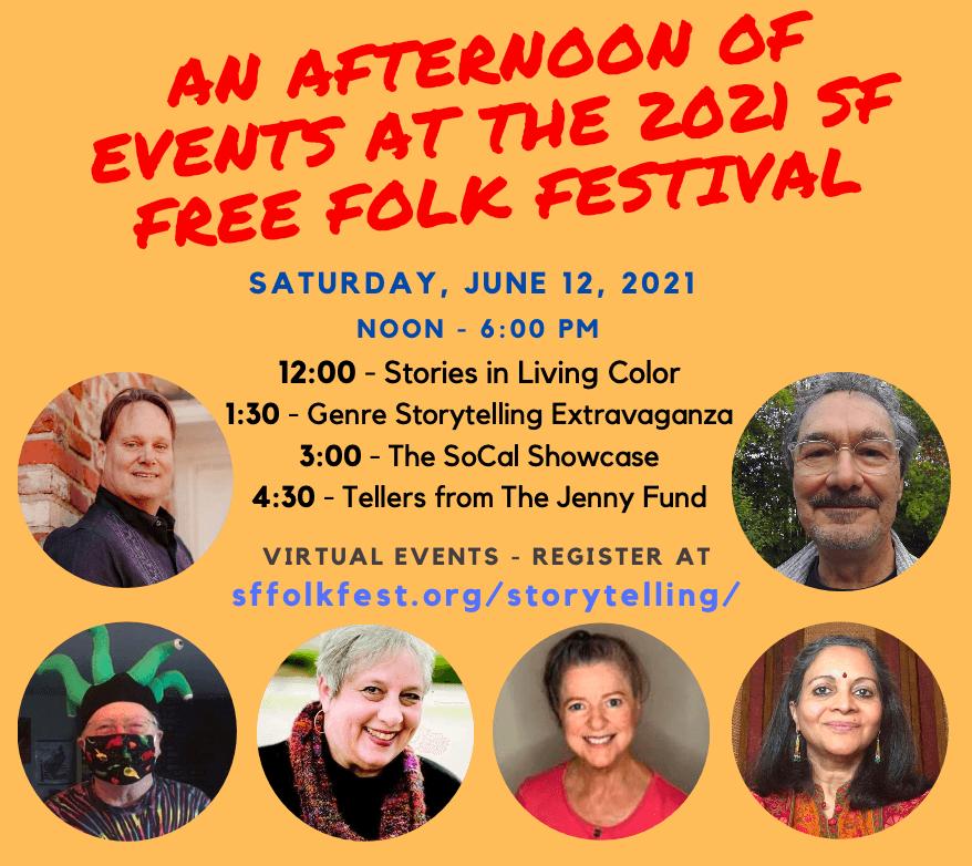SF Folk Festival Storytellers 2021