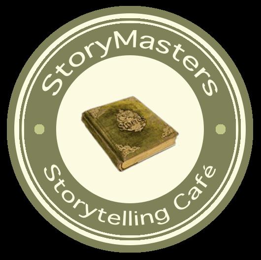 StoryMasters Storytelling Cafe logo