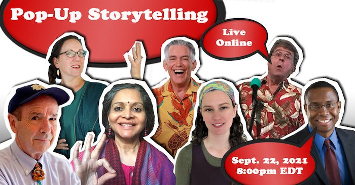 Popup Storytelling Show Cover