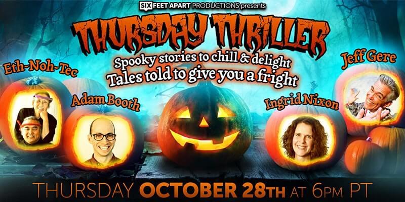 Thursday Thriller storytelling show cover