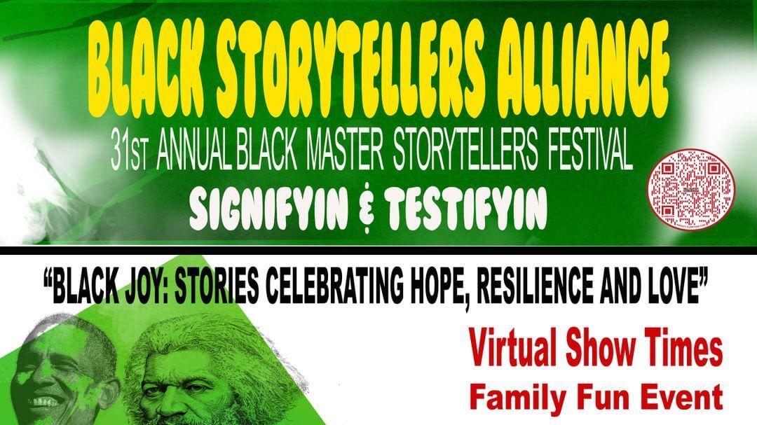 black storytelling festival cover image
