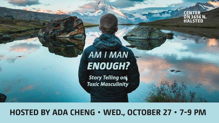 Am I Man Enough Storytelling show