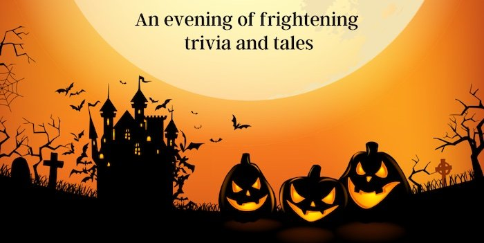 Halloween Trivia Night flyer
